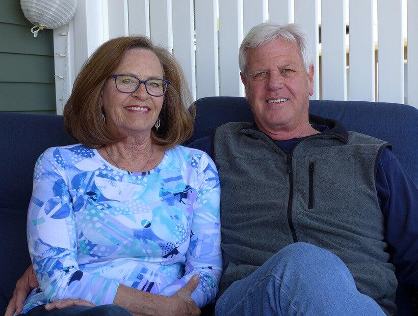 Mike and Karen Desmond