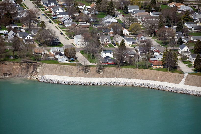 Communities And Property Owners Install Shoreline Protection