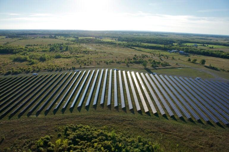 Invenergy's Sandringham solar site