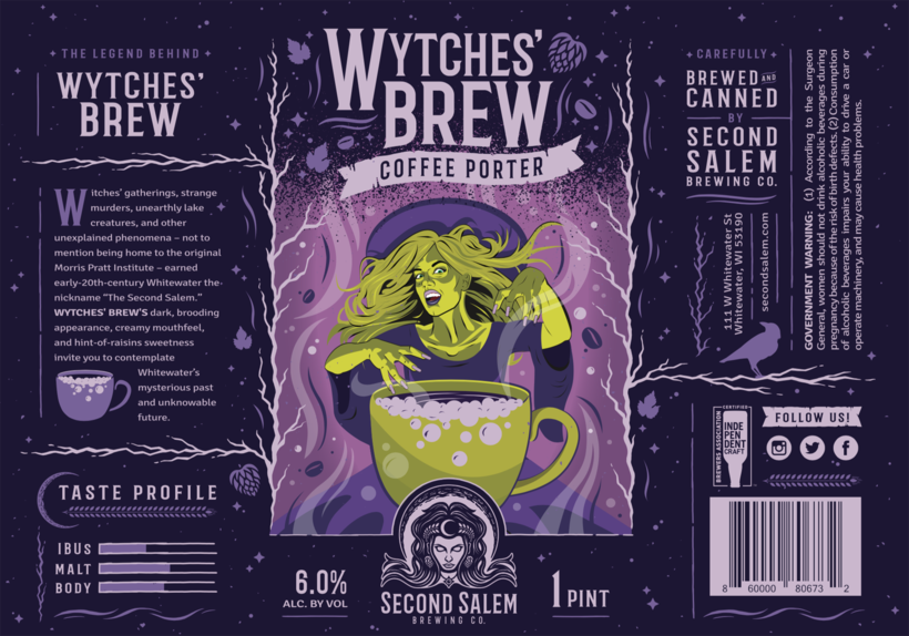 Second Salem Brewing Company's Wytches' Brew