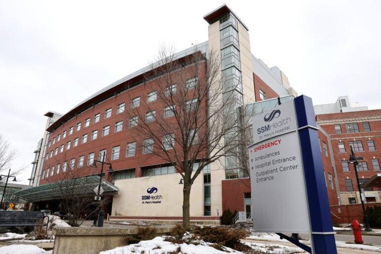 SSM Health St. Mary's Hospital in Madison, Wisconsin