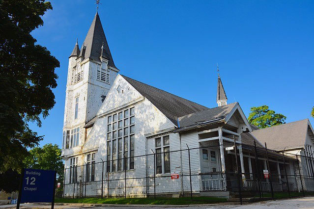 The chapel at the Clement J. Zablocki Veterans Affairs Medical Center