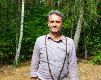 Andreas Weber in the Grunewald Forest in Berlin, Germany