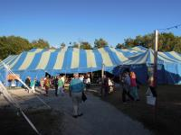 image of tent at big top chautauqua