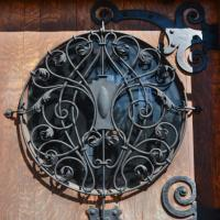 door on the Wilson Place Mansion