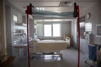 "A room in the intensive care unit dubbed ""The Cove"" is where Door County Medical Center"