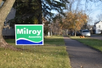 Rep. Nick Milroy election sign