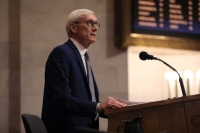 Tony Evers during his State of the State address