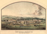Early Camp Randall lithograph