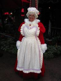 Mrs Claus, image by Flickr user Loren Javier