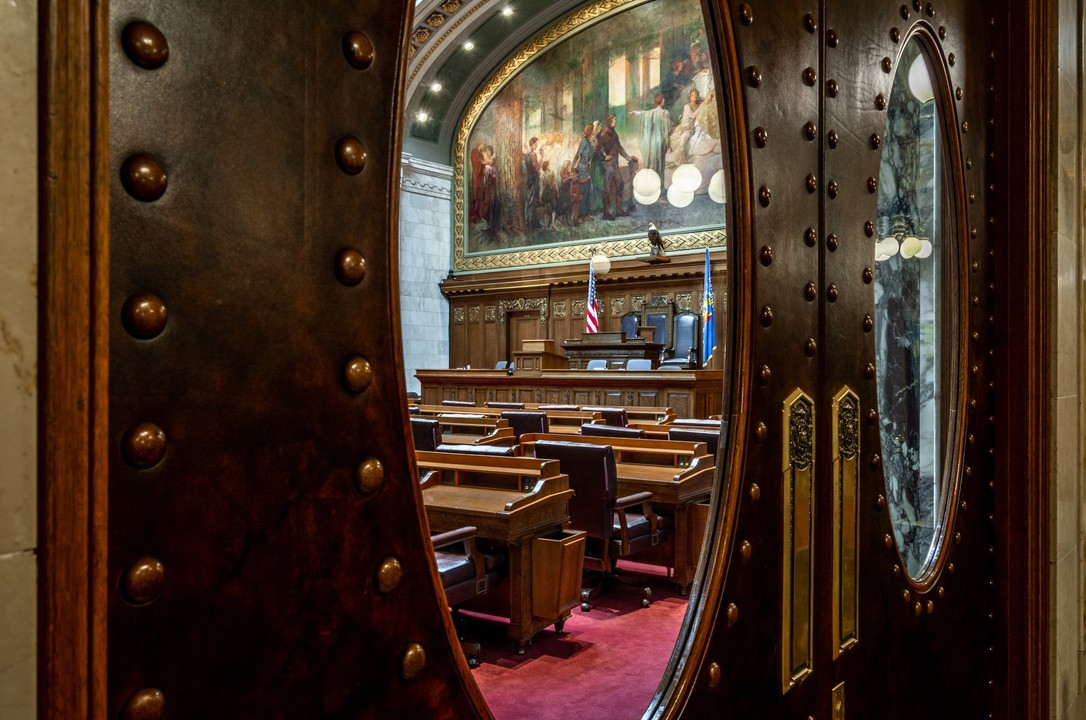 Wisconsin state Assembly chamber