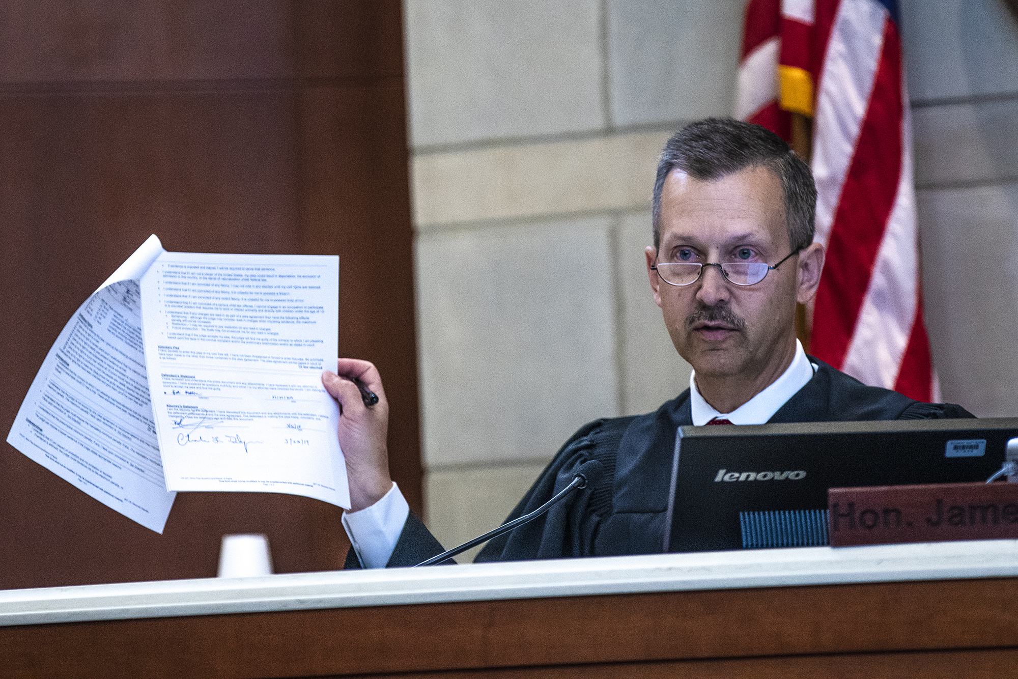 Barron County Judge James Babler